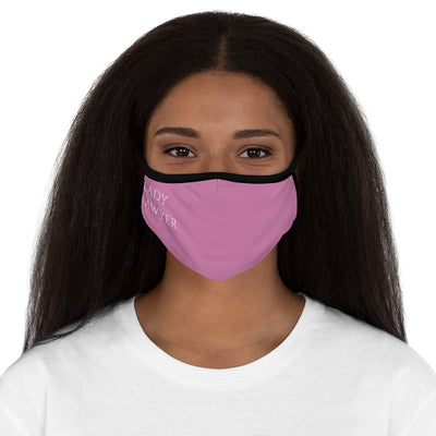 Lady Lawyer Fitted Polyester Face Mask