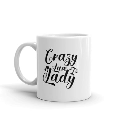 Crazy Law Lady Mug - The Legal Boutique
