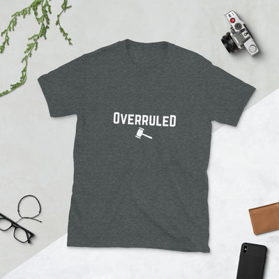 Lawyer T Shirt - Overruled White - Premium Unisex Short Sleeve Shirt - The Legal Boutique