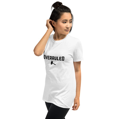 Attorney T Shirt - Overruled Black - Premium Unisex Short Sleeve Shirt - The Legal Boutique