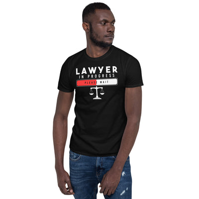 Law School T Shirt - Lawyer In Progress - Unisex Short Sleeve Shirt - The Legal Boutique