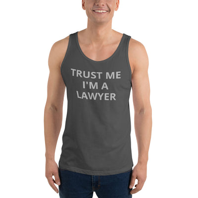 Attorney Gift Tank Top - Trust Me I'm A Lawyer - Unisex Sleeveless Shirt - The Legal Boutique
