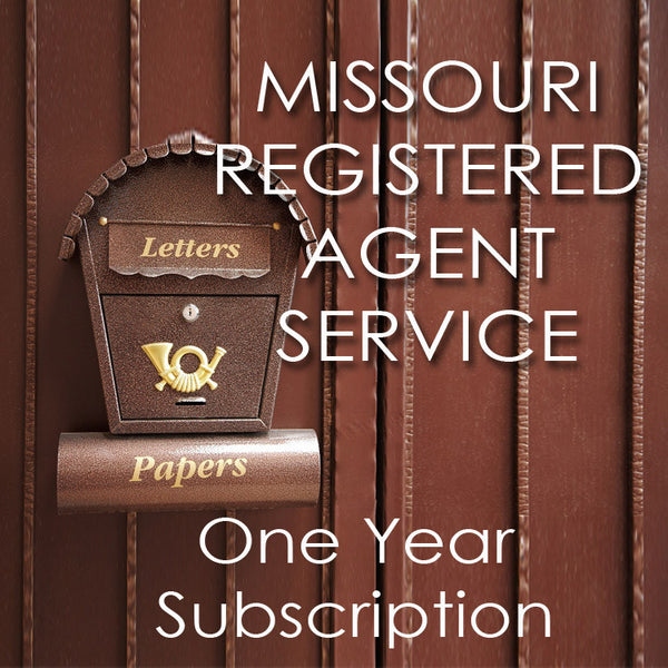 Missouri Registered Agent Service Year Photo Legal Forms For - Missouri legal forms