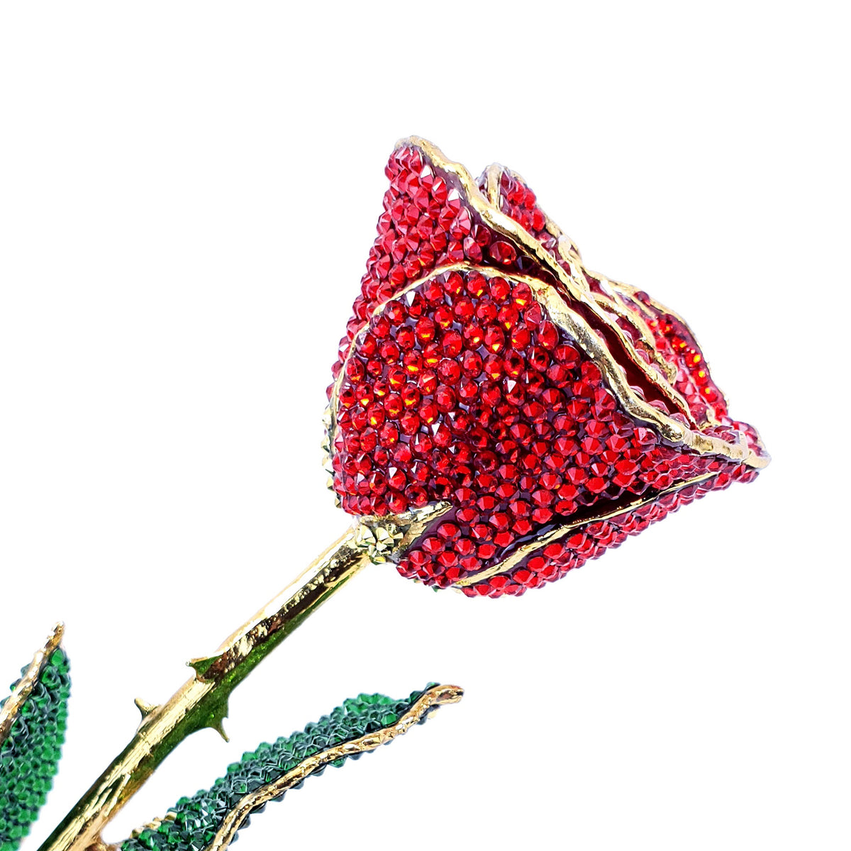 Custom Forever Rose with Swarovski® Crystals