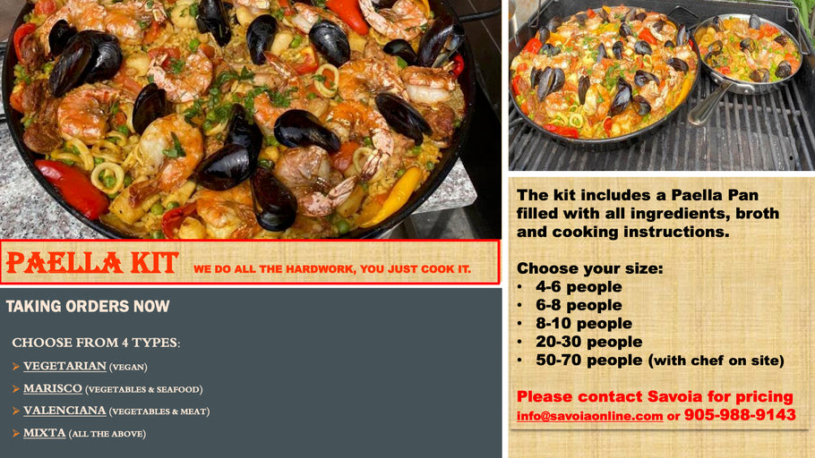 Paella Kit's Now Available For Order