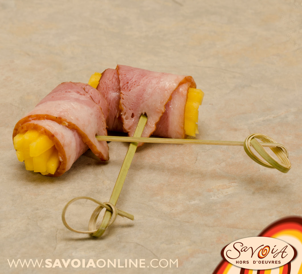 Mango and Smoked Duck Roll