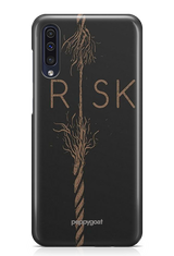"""RISK"" Galaxy A50 Printed Back Cover Case"