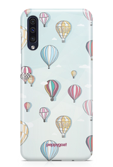 """Hot Air Balloon"" Galaxy A50 Printed Back Cover Case"