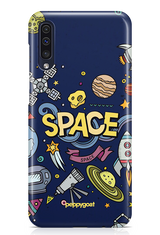 """SPACE"" Galaxy Printed Back Cover Case"