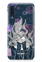 """Space Girl"" Galaxy Printed Back Cover Case"