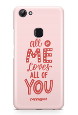 """Love You"" Vivo Y83 Printed Back Cover Case"