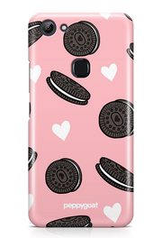 """Oreo Love"" Vivo Y83 Printed Back Cover Case"