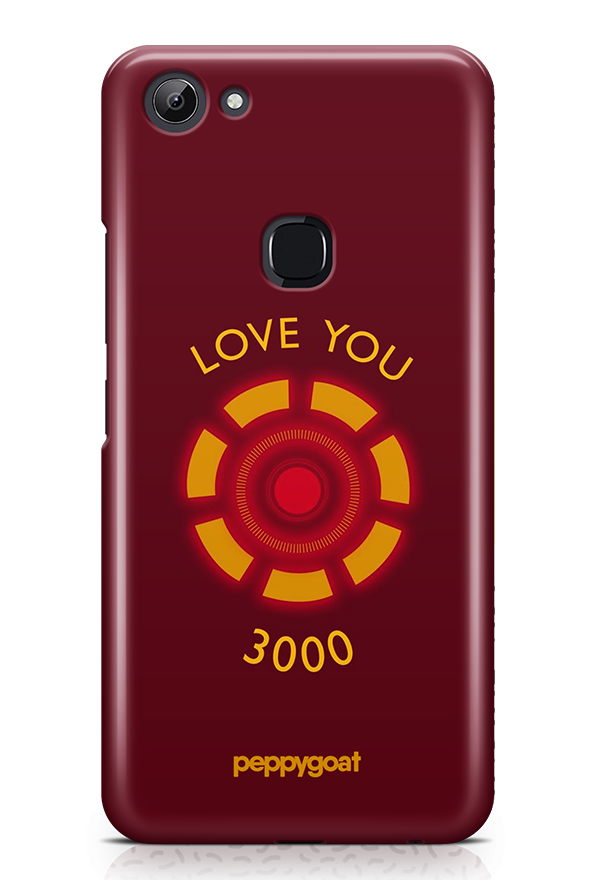 """Love You 3000"" Vivo Y83 Printed Back Cover Case"