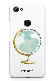 """Own World"" Vivo Y83 Printed Back Cover Case"