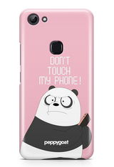 """Don't Touch My Phone"" Vivo Y83 Printed Back Cover Case"