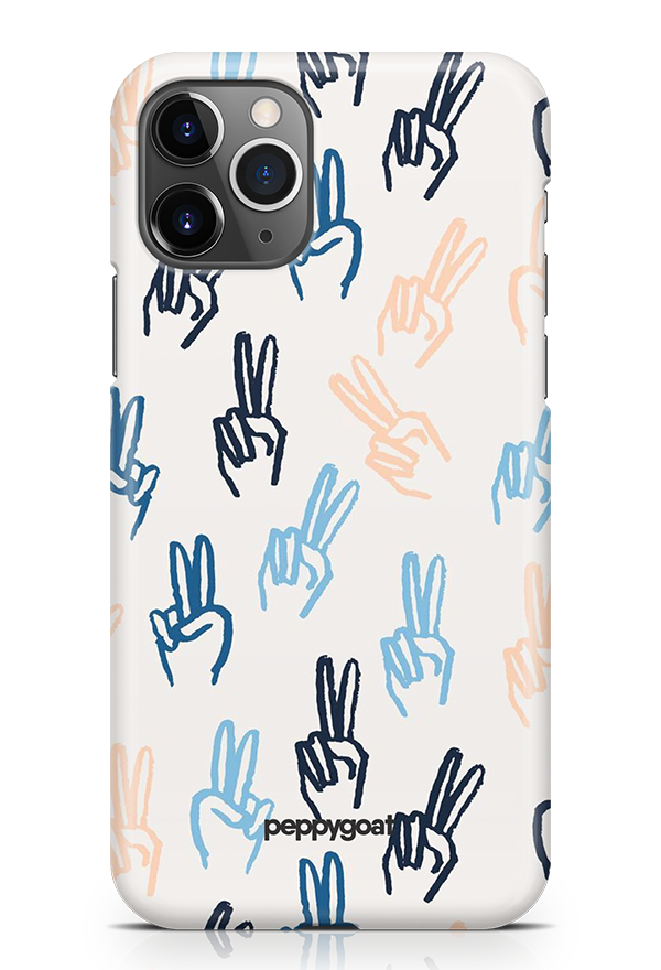 """Victory"" iPhone Printed Back Cover Case"