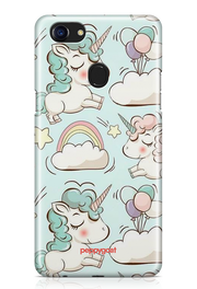 """Cute Unicorn"" Oppo Printed Back Cover Case"