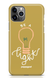 """Be The Light"" iPhone Printed Back Cover Case"