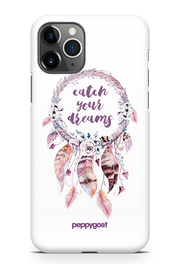 """Catch Your Dreams"" iPhone Printed Back Cover Case"