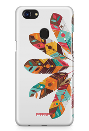 """Feather"" Oppo Printed Back Cover Case"