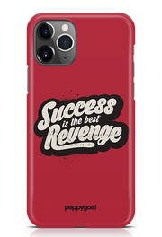 """Best Revenge"" iPhone  Printed Back Cover Case"