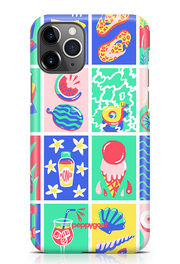 """Beach Pattern"" iPhone Printed Back Cover Case"