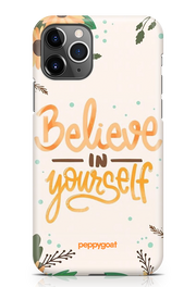 """Believe In Yourself"" iPhone Printed Back Cover Case"