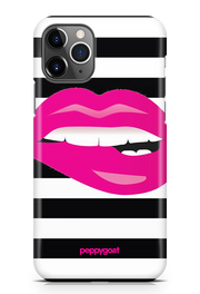 """Pink Lips"" iPhone Printed Back Cover Case"