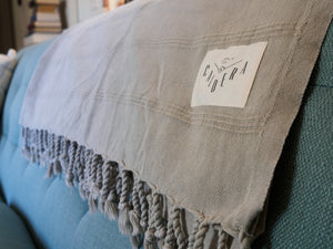 Stonewashed Throw Blanket