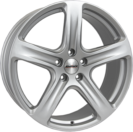 Calibre - Tourer, 18 x 8 inch, 5x160 PCD, ET52, Silver Single Rim
