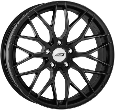 AEZ - Antigua Dark, 19 x 8.5 inch, 5x120 PCD, ET18, Matt Black Single Rim