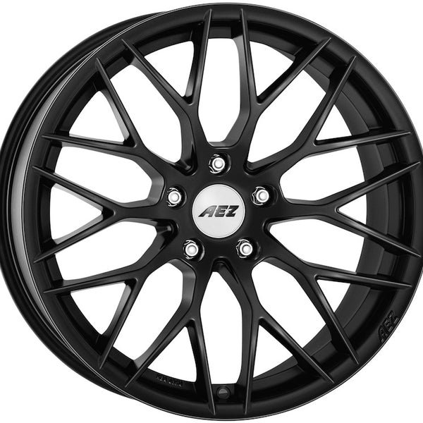 AEZ - Antigua Dark, 19 x 9.5 inch, 5x120 PCD, ET32, Matt Black Single Rim
