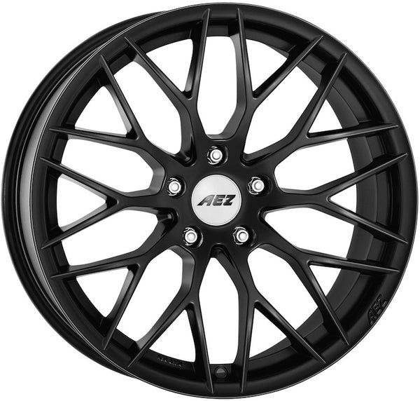 AEZ - Antigua Dark, 20 x 9.5 inch, 5x120 PCD, ET40, Matt Black Single Rim