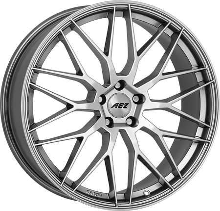 AEZ - Crest, 19 x 9 inch, 5x112 PCD, ET24, High Gloss Single Rim