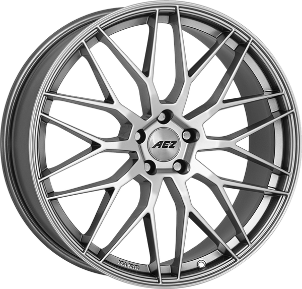 AEZ - Crest, 17 x 7.5 inch, 5x114.3 PCD, ET48, High Gloss Single Rim