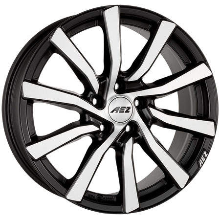 AEZ - Reef, 20 x 9 inch, 5x114.3 PCD, ET30, Matt Black / Polished Single Rim