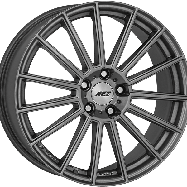 AEZ - Steam Graphite, 19 x 8 inch, 5x112 PCD, ET44, Graphite Single Rim