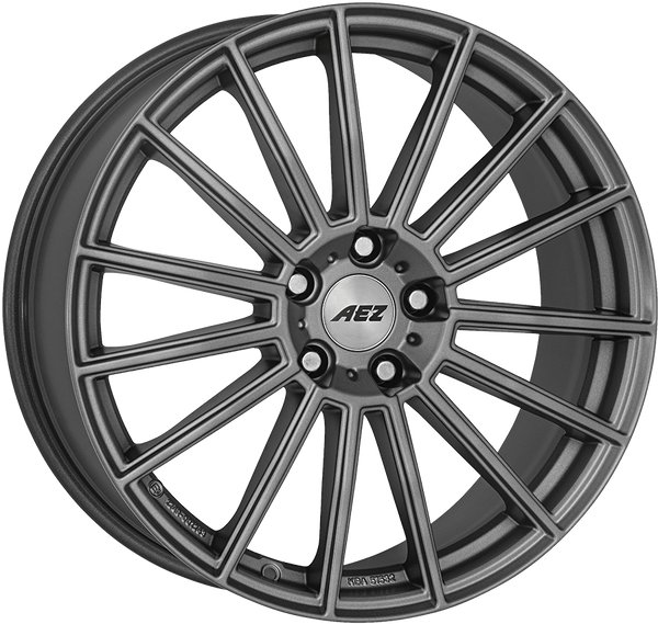 AEZ - Steam Graphite, 18 x 8 inch, 5x112 PCD, ET57, Graphite Single Rim