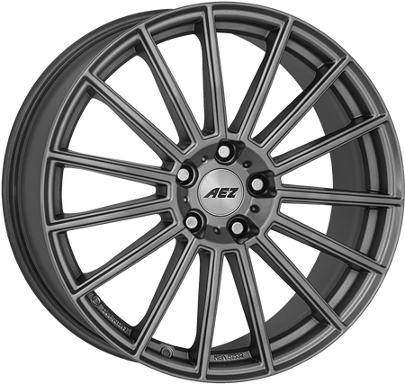 AEZ - Steam Graphite, 18 x 7 inch, 5x112 PCD, ET43, Graphite Single Rim