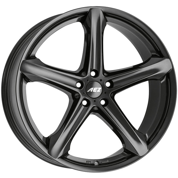 AEZ - Yacht Dark, 18 x 8 inch, 5x112 PCD, ET48, Black Single Rim
