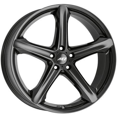 AEZ - Yacht Dark, 16 x 7 inch, 5x112 PCD, ET48, Black Single Rim