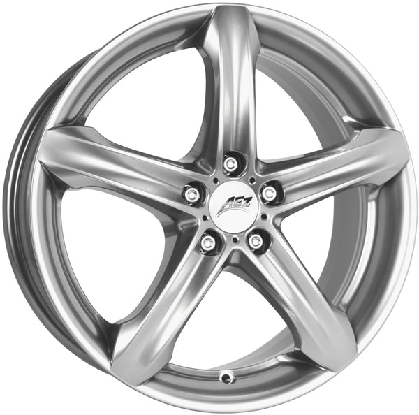 AEZ - Yacht, 19 x 8.5 inch, 5x114.3 PCD, ET38, High Gloss Single Rim