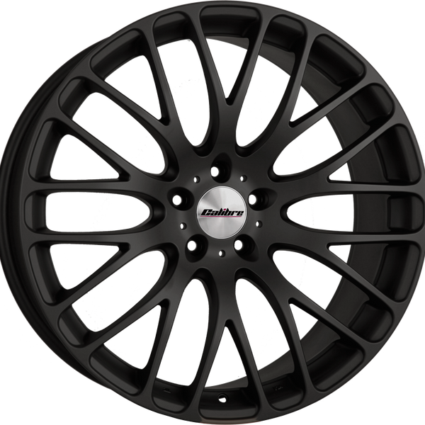 Calibre - Altus, 20 x 9 inch, 5x120 PCD, ET45, Matt Black Single Rim