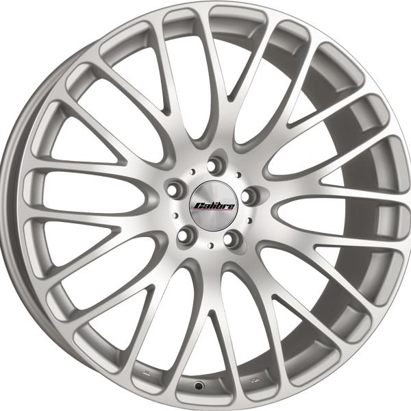 Calibre - Altus, 20 x 9 inch, 5x108 PCD, ET40, Matt Silver / Matt Polished Face Single Rim