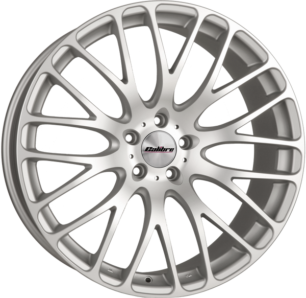 Calibre - Altus, 20 x 9 inch, 5x120 PCD, ET45, Matt Silver / Matt Polished Face Single Rim
