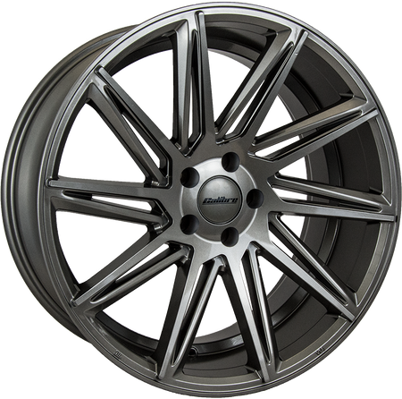 Calibre - CC-A, 19 x 8 inch, 5x112 PCD, ET45, Gunmetal Single Rim