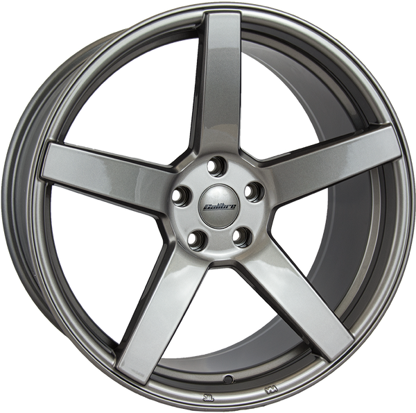 Calibre - CC-Q, 20 x 8.5 inch, 5x120 PCD, ET35, Gunmetal Single Rim