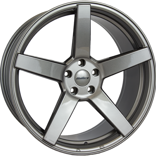 Calibre - CC-Q, 20 x 8.5 inch, 5x112 PCD, ET45, Gunmetal Single Rim