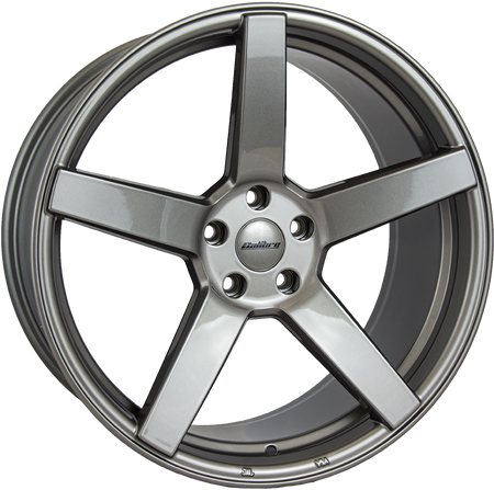 Calibre - CC-Q, 20 x 9.5 inch, 5x112 PCD, ET48, Gunmetal Single Rim