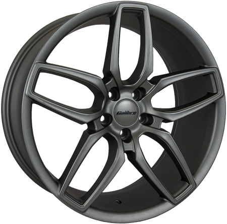 Calibre - CC-U, 20 x 9 inch, 5x108 PCD, ET45, Matt Gunmetal Single Rim